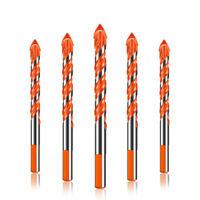 10Pcs drill bits Set 8mm Tungsten Steel Triangle Alloy head Drilling Tool