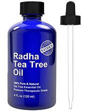 Tea Tree Essential Oil 4 oz 100% Pure & Natural Melaleuca Premium Quality Acne