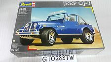 Revell 1/16 big scale Jeep CJ-7 Renegade Open-Top V8 model kit (MEGA RARE)