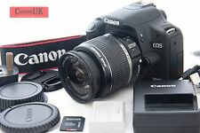 Canon 500D DSLR Camera + IS Lens  + Many Accessories *Low Shot Count* *FREE P&P