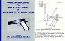 Colt 1964 - 1911A1 Match Conditioning USN Manual