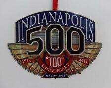 2011 Indianapolis Motor Speedway Christmas Brass Collector Ornament Indy 500