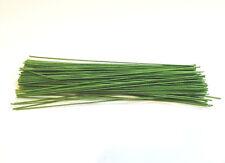 "Green floral Stem CLOTH wire 6"" 24 Gauge **#50***"