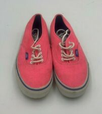 Ladies Vans Pink Size 8 Used Good Condition (R4)(A)