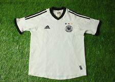 GERMANY NATIONAL TEAM # 9 2002-2004 FOOTBALL SHIRT JERSEY HOME ADIDAS ORIGINAL