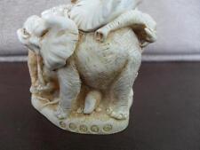 Signed Harmony Kingdom Trumpeter'S Ball Elephant Box Figurine With Extra Trunk
