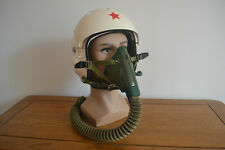 Air Force High Altitude MiG-21 Fighter Pilots Flight Helmet,Oxygen Mask