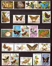 SAO TOME E PRINCIPE  : les differentes especes de papillons 280T4
