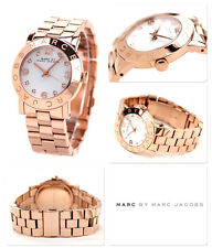 MARC BY JACOBS WOMEN'S LUXURY ROSE GOLD MIRROR WATCH MBM3077