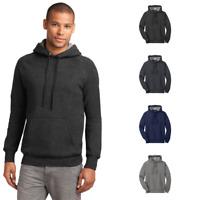 Hanes Nano Pullover Hooded Sweatshirt Raglan Ring Spun Pocket Mens Hoodie HN270