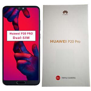 BNIB Huawei P20 PRO Dual-SIM 128GB Midnight Black Factory Unlocked 4G SIMFree