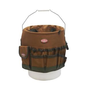Bucket Tool Organizer Bag Garden 30 pocket 5 gallon Assorted Storage Work Home