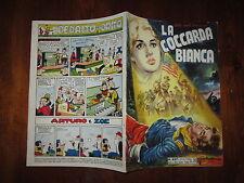 GLI ALBI DELL'INTREPIDO N°457 19-10-1954 LA COCCARDA BIANCA