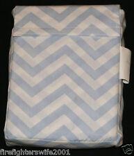 Circo Blue White Chevron Fitted Crib Sheet Toddler Bed Sheet