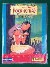 ALBUM Figurine Cards POCAHONTAS , Ed Panini 1996 , Completo !!! Disney