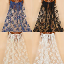 1 Yard Guipure Lace Fabric Embroidered Craft DIY Wedding Dress Accessories