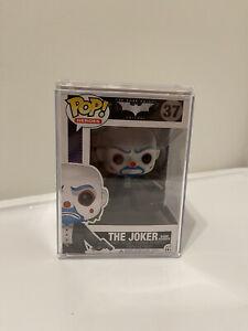 Funko POP Heros! The Dark Knight Trilogy - THE JOKER Bank Robber #37 RARE. Mint.