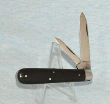 """VINTAGE NEW YORK KNIFE CO EBONY JACK KNIFE 1856-1931 """"NO CASE /BOX"""