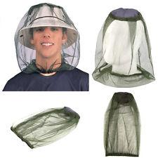 Insecto Mosquito Net Head Con Sombrero De Malla De Viaje Campamento Pesca