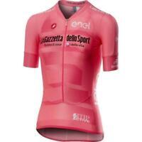 NEW! 🇮🇹 Castelli Giro 102 Climbers Cycling Jersey - Rosa Giro-Rosso Corsa 🇮🇹