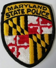 Maryland State Police MSP Embroidered Patch