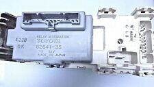 Toyota Relay Integration With Fuse Block 82641-35090 9 82641-35