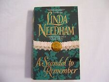 """Historical Romance Book """"A Scandal to Remember"""" by Linda Needham"""