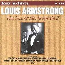 CD NEUF scellé - LOUIS ARMSTRONG - HOT FIVE  HOT SEVEN VOL 2 - 1927 -C48