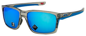 Oakley Mainlink XL Sunglasses OO9264-4261 Grey Ink | Prizm Sapphire Lens