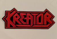 Kreator Embroidered Iron-on Thrash Metal Band Patch