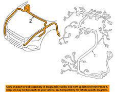 AUDI OEM 16-18 TT Quattro 2.0L-L4 Wiring Harness-Wire Harness 8V1971072