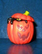 Hallmark Heartline Halloween Merry Miniatures Pumpkin Jack O Lantern Spider🎃