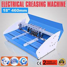 3 In 1 460mm Cordonatrice Perforatrice Elettrica Carta Creaser Metallo HOT