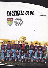 MALVERN TOWN V DUDLEY TOWN WEST MIDLANDS LEAGUE   4/5/2002