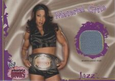 "WWE/WWF FLEER 2002 ""JAZZ - MATERIAL GIRLS"" ABSOLUTE DIVAS EVENT MAT INSERT CARD"