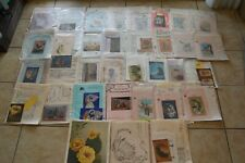 Vintage Lot of 30+ Pieces Tole Craft Hobby Painting Patterns Southwest Iron On