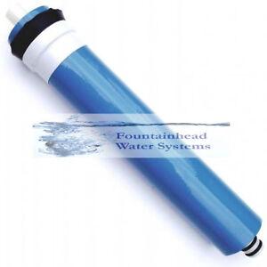 75 GPD Reverse Osmosis Membrane Fits Standard Size Membrane Housing.