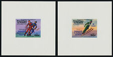 Chad 311-2, C178-9 Deluxe Sheets MNH Winter Olympics, Ice Hockey, Bobsled