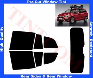 BMW 2 F46 Gran Tourer 15-... Pre-Cut Window Tint 5%-50% Rear Window & Rear Sides