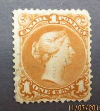 can03 canada stampScott 23, F-Vf used, small thin spot Ll edge. Cat. $225.00
