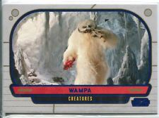 Star Wars Galactic Files Blue Parallel #310 Wampa