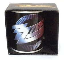 Zz Top Classic Design Logo Coffee Mug Cup New Official 2009 Nos New In Box