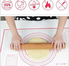 Silicone Rolling Cake Dough Mat Pastry Clay Fondant Baking Sheet  Oven Liner