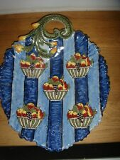 plat décoratif le mont dore  GEO MARTEL