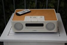Yamaha TSX-130 Kompaktanlage in weiß mit Holzoptik