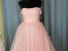 Prom  gown dress color blush. size 6  designer Sherri Hill