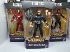 Marvel Legends Avengers Infinity War Action Figures Thanos BAF Complete Set NIP