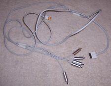 6' Long Component AV TV Video Audio Cable USB 5-RCA F Apple iPhone iPad iPod