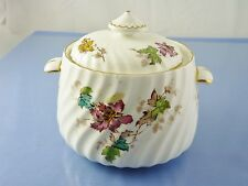VERMONT S-365 SUGAR BOWL with LID BY MINTON CHINA