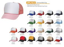 2 Dozen Trucker Baseball Cap Mesh Retro Cap Hat 39 Color Choice Wholesale Lot
